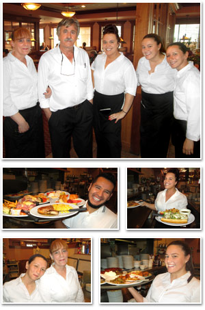 Friendly crew at Jimmy's Restaurant in Des Plaines